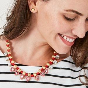 Stella & Dot handwoven Darby necklace